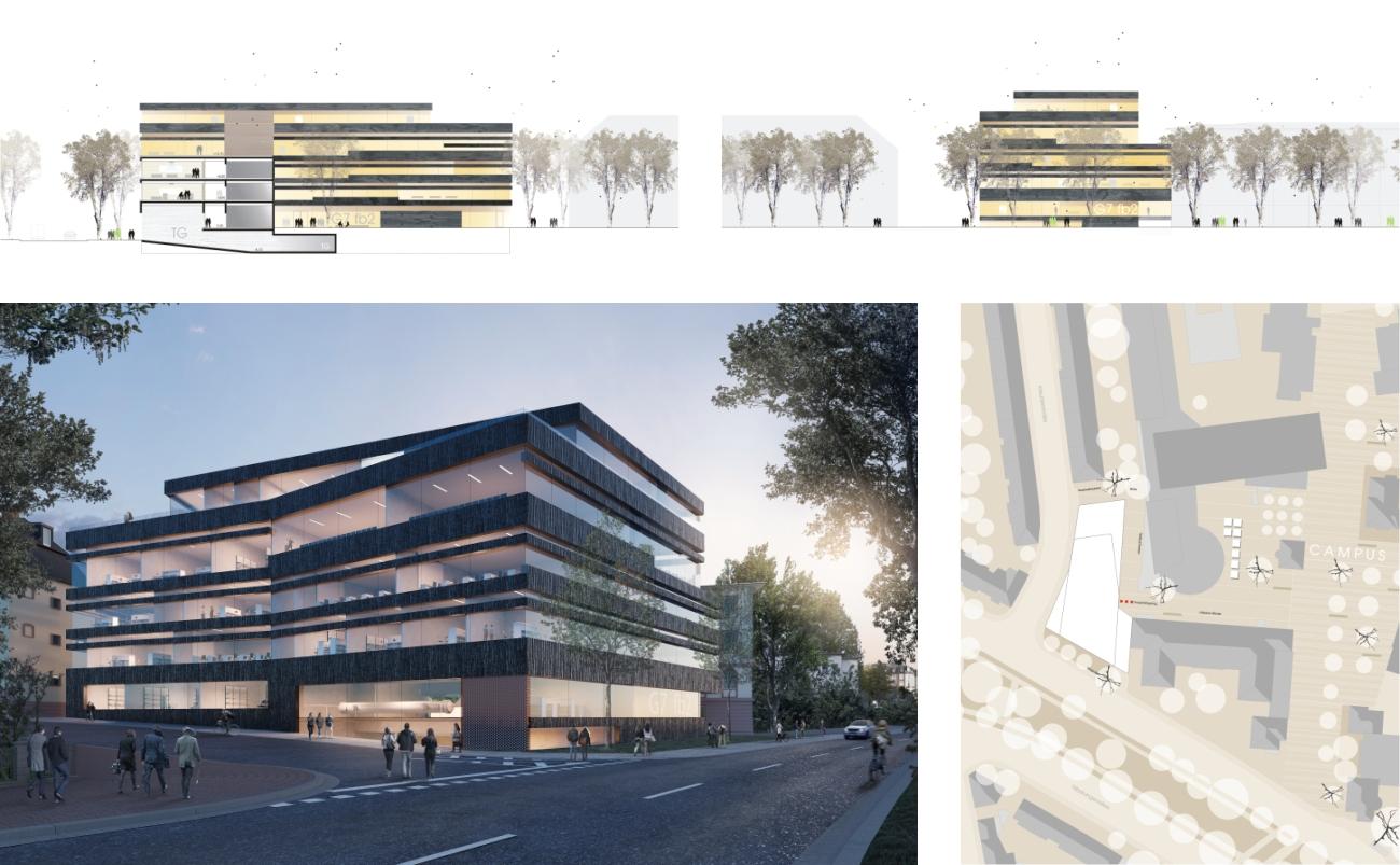 Charmant Gebäude Wird Für High School Studenten Fortgesetzt ...